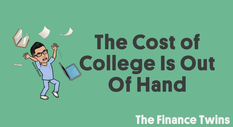 cost of college is increasing