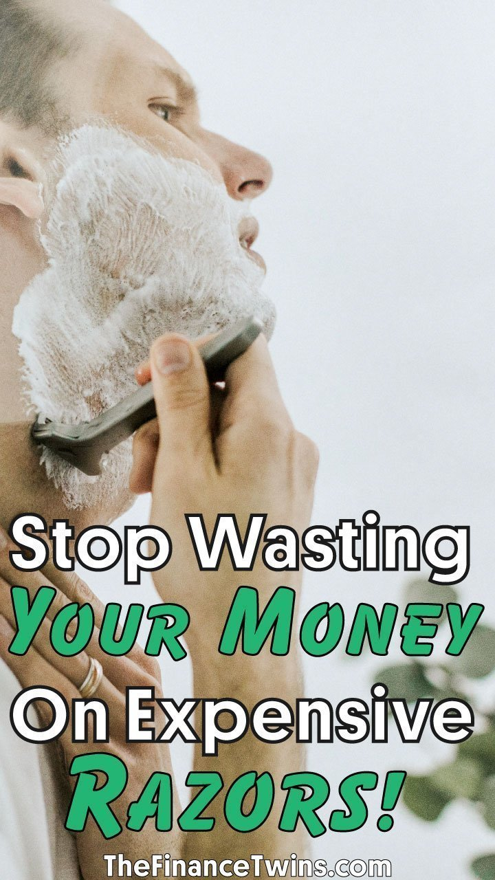Are you wondering how to shave with a safety razor? It\'s the cheapest - and best - way to shave. Period. This article shows you how much you can save! #shaving #money #frugal #hacks #lifehacks #moneyhacks #savemoney #frugalliving