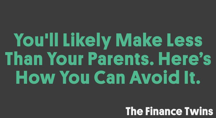 How to make more than your parents