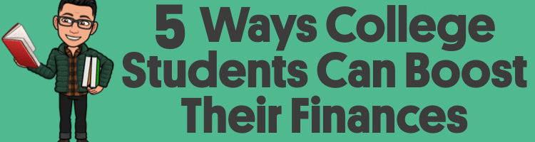 5 Ways College Students Can Revitalize Their Finances