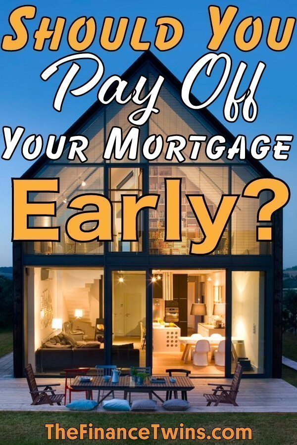 Should You Pay Off Your Mortgage Early? - Young and the ...