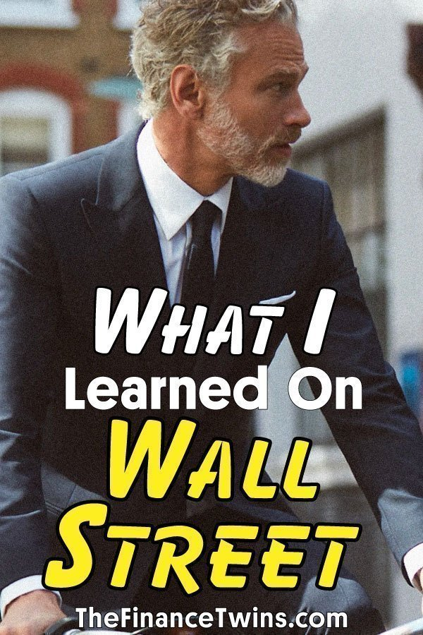 What i learned on wall street