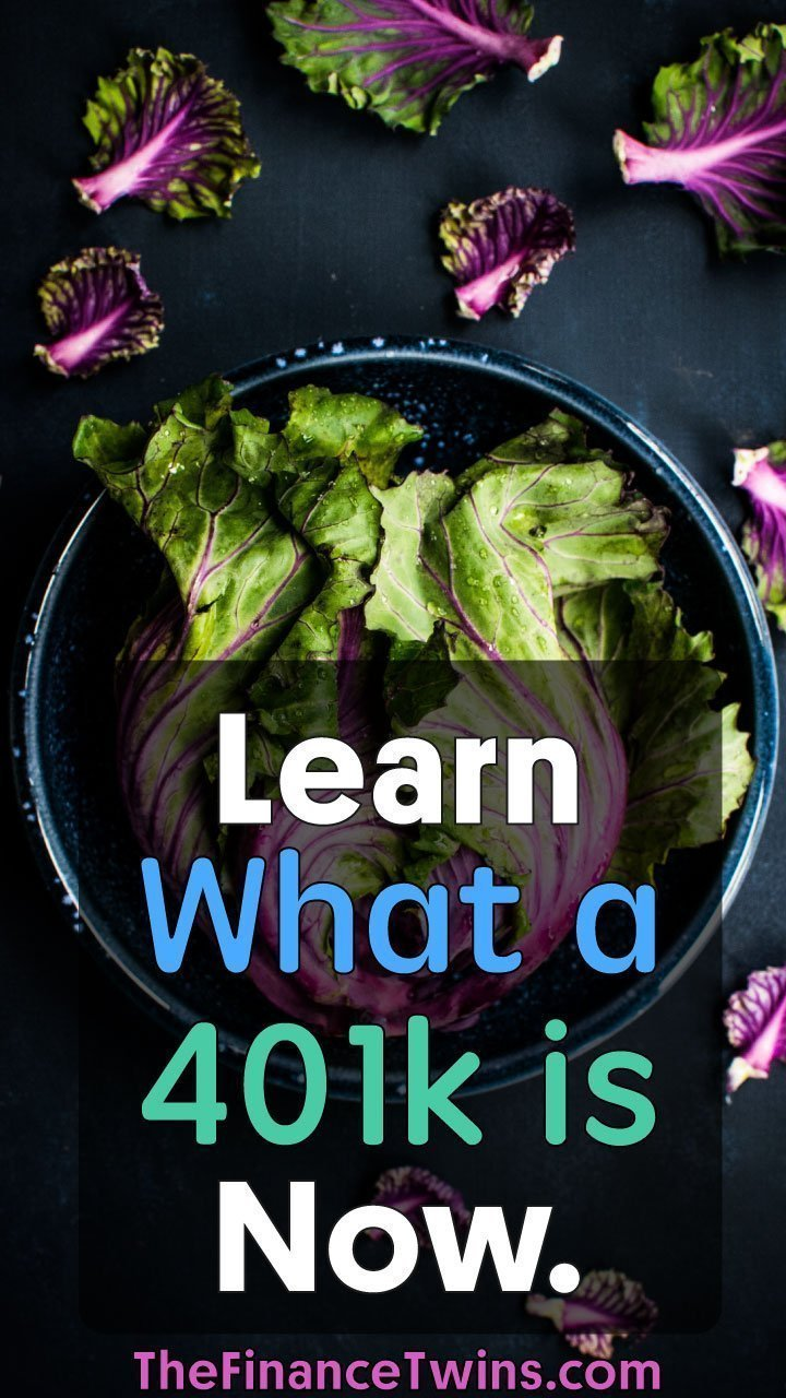 What is a 401k? It\'s simply an easy way for you to save for retirement. The best part? It comes with awesome tax advantages and potentially even a company match. Learn everything you need to know now. #money #401k #lifehacks #moneytips #frugal #retire #retirement #budget #moneyhacks