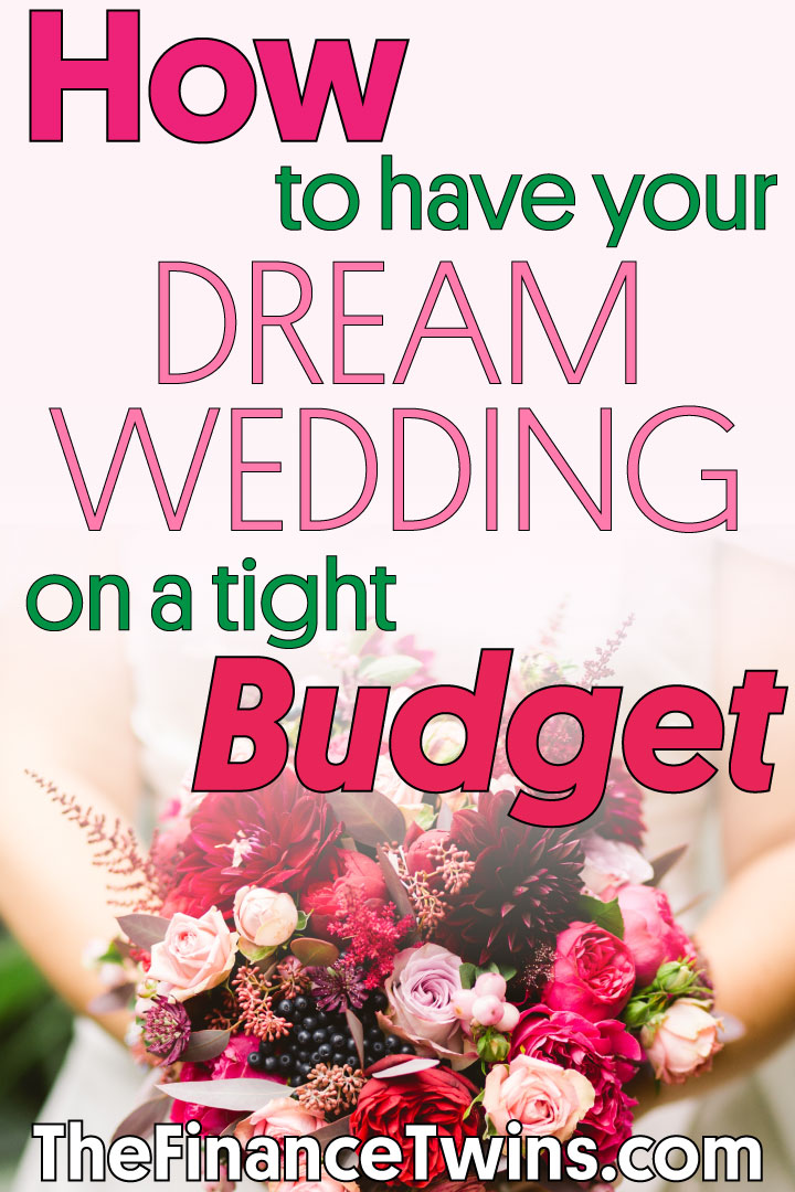 dream wedding on a budget