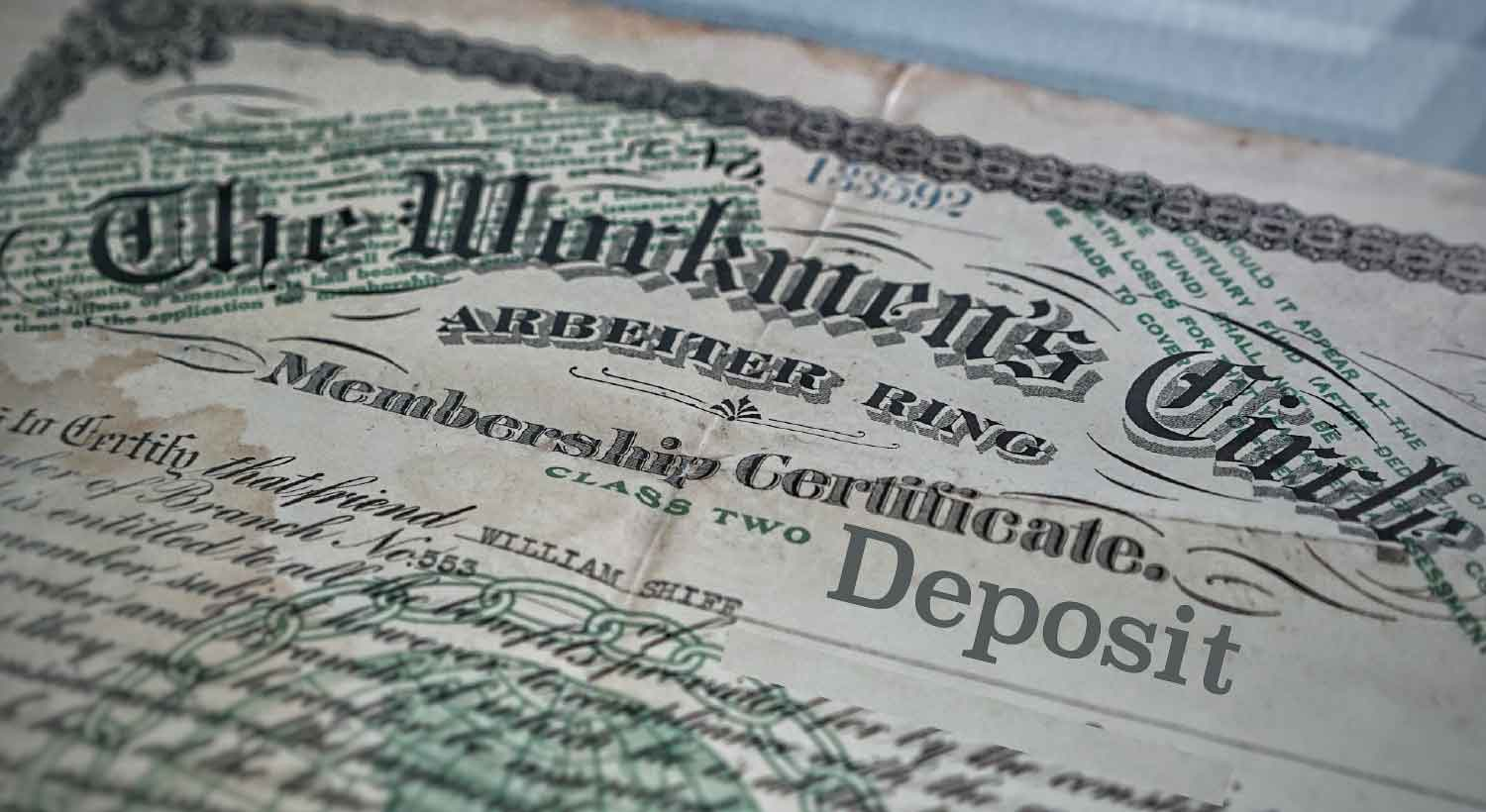 cd certificate of deposit