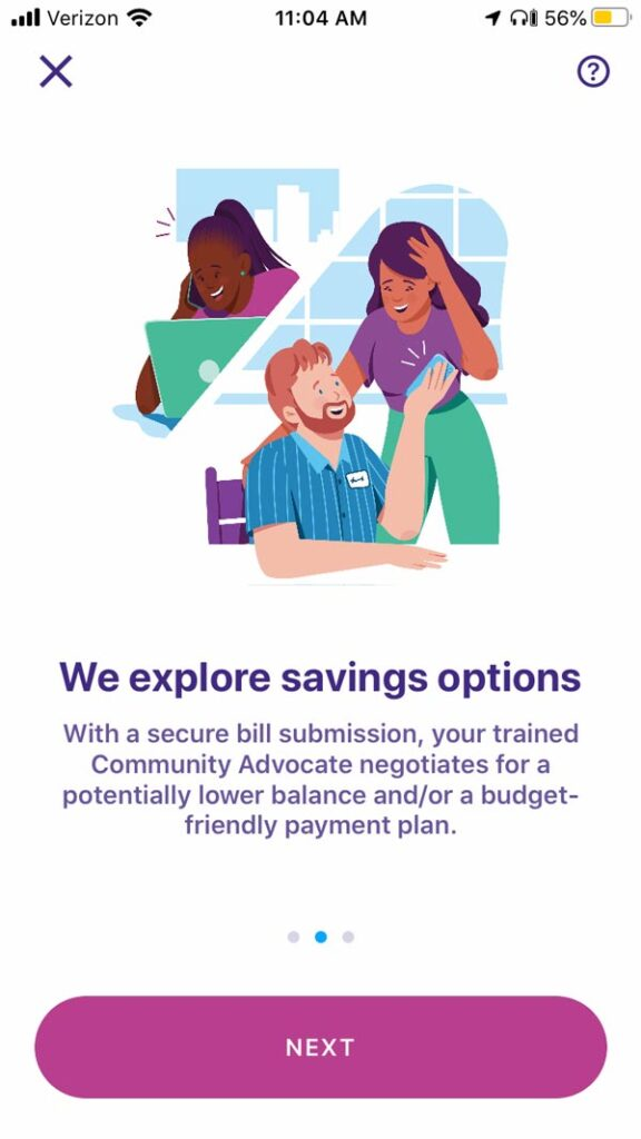 Earnin app review health aid photo