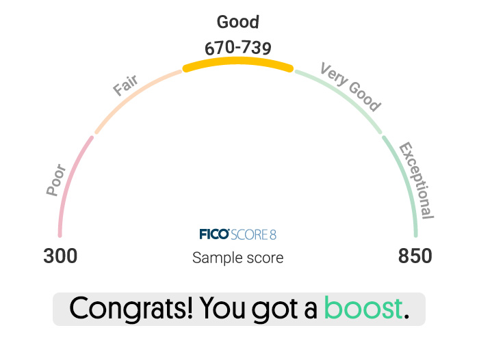 experian boost review credit score band