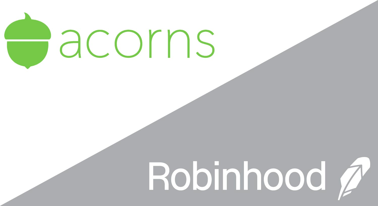 robinhood vs acorns