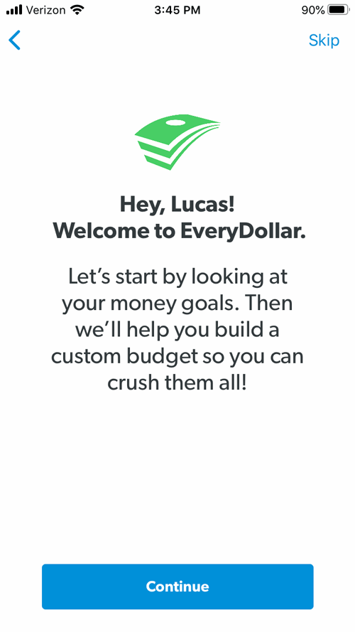 EveryDollar review introductory image
