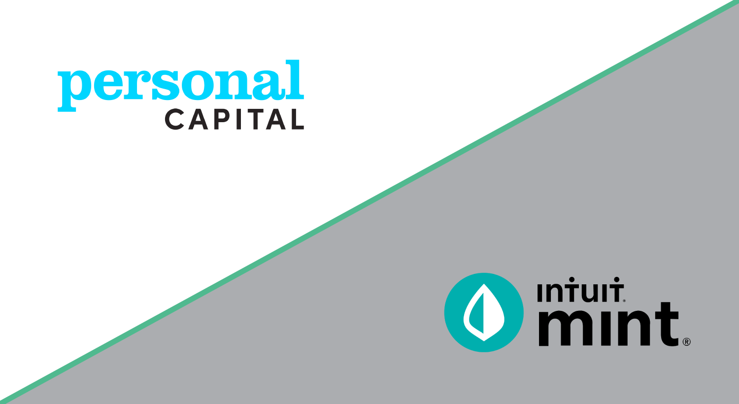 personal capital and mint app logos
