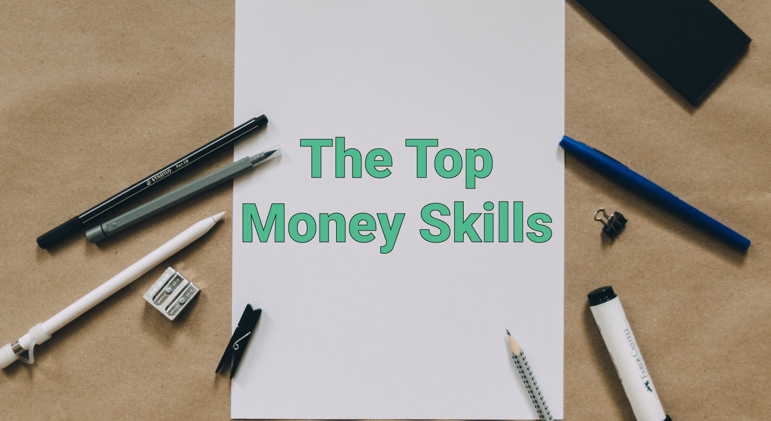list of money skills