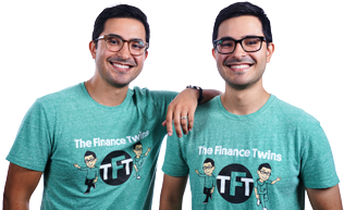 the finance twins portrait